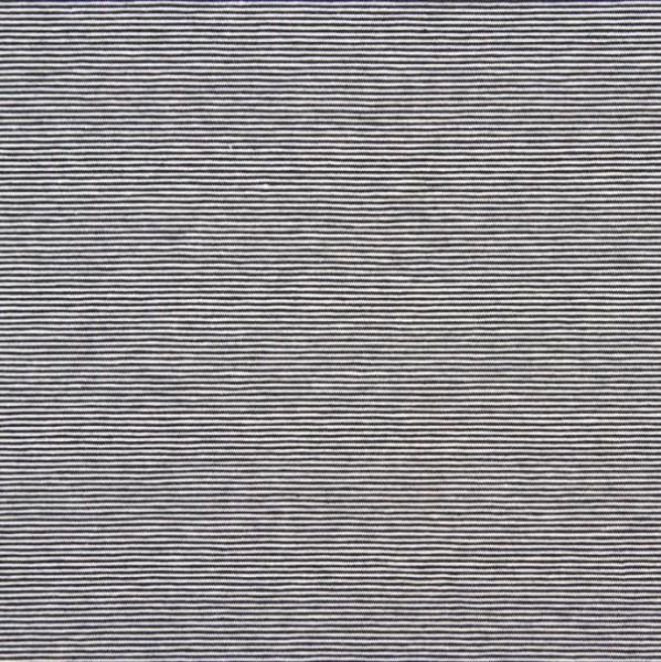 Valentin Streifenjersey mini, schwarz-weiß