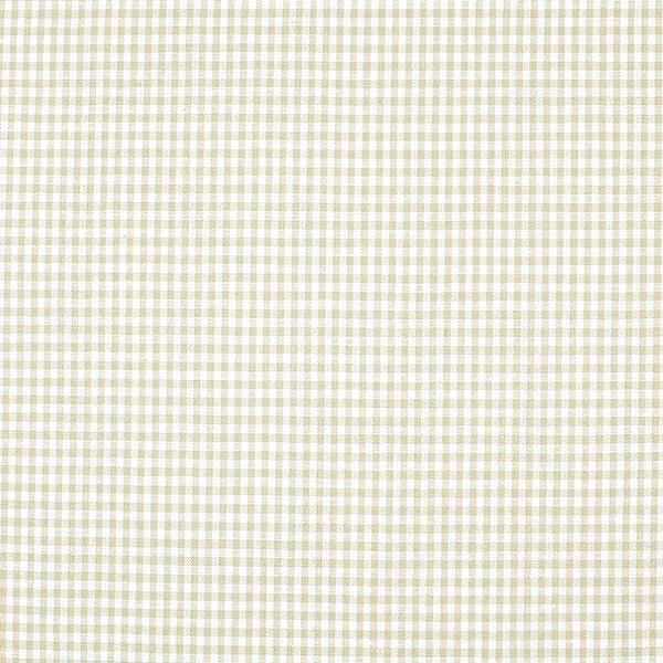 Vichykaro, klein, hellbraun-weiß kariert