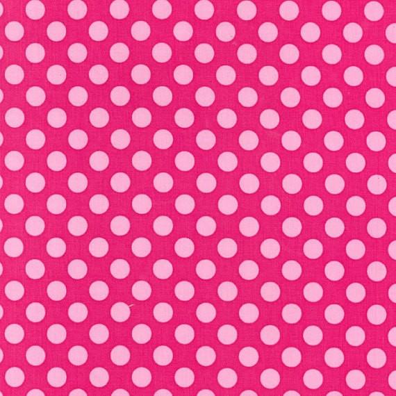 Michael Miller Ta Dot Pink, Baumwollstoff, *Letztes Stück ca. 80 cm*