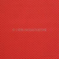 Stenzo Minipunkte rosa auf rot, Popeline