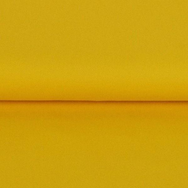 Fester Baumwollstoff/Köper, gelb