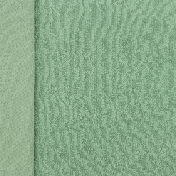 Stretchfrottee-Jersey, mint