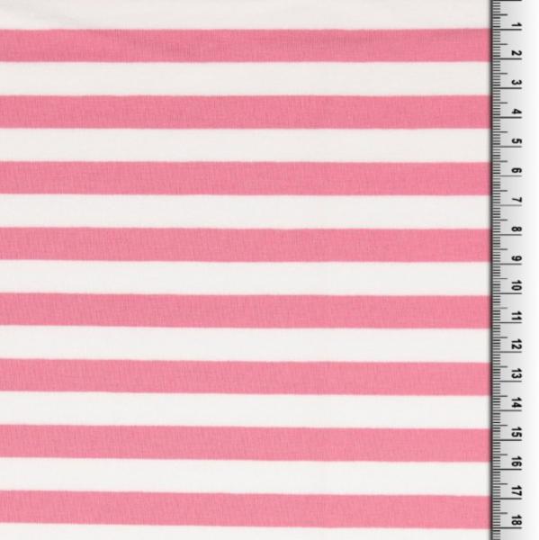 Luna, Streifen rosa-weiß, Sweat
