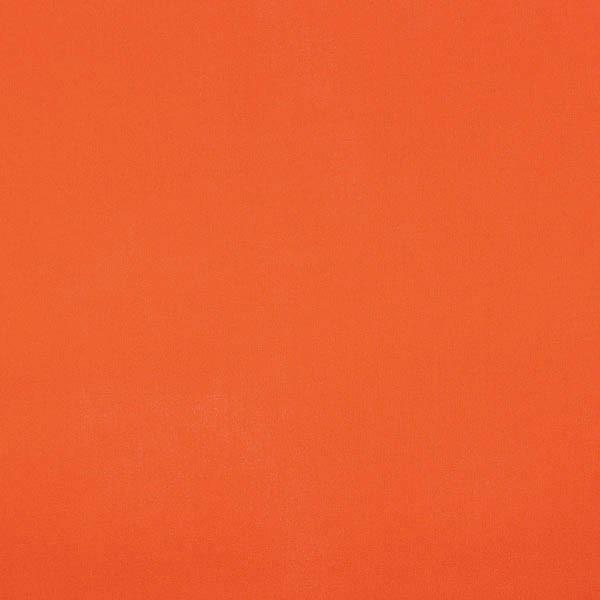 Baumwollstoff orangerot