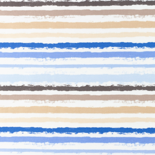 Color Stripes klein, blau/sand, Jersey