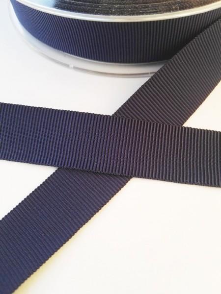 Ripsband, dunkelblau