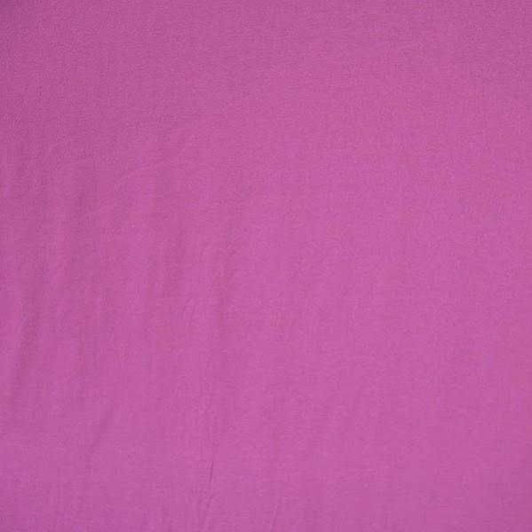 Top- Viskosejersey dunkles pink
