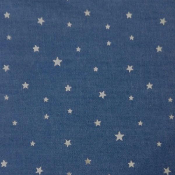 Jeans Glitzer-Sterne, dunkles jeansblau