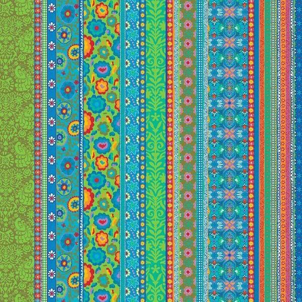Quintana Yamie, blau, Popeline