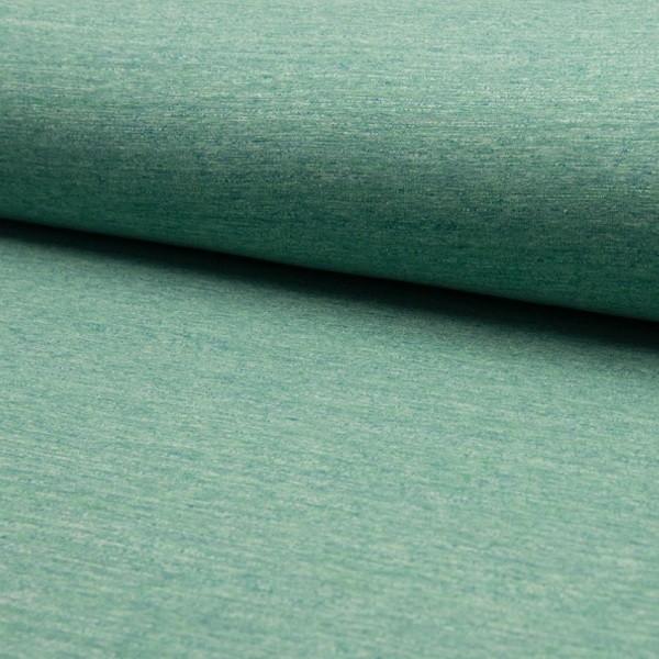 Kuschelsweat Vintage, grün meliert