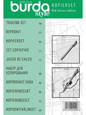 Burda Kopierset (Folie und Stift)
