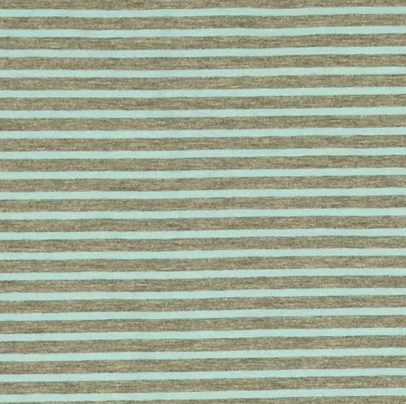 Campanino hellblau auf grau-meliert, Jersey