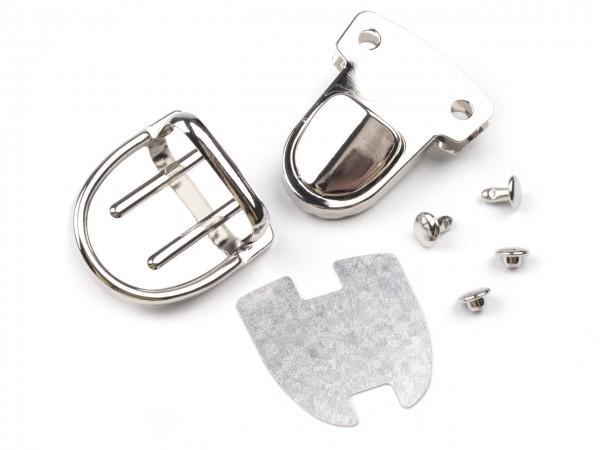 Steckverschluss, oval