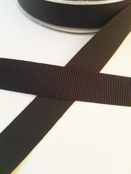 Ripsband, schwarz