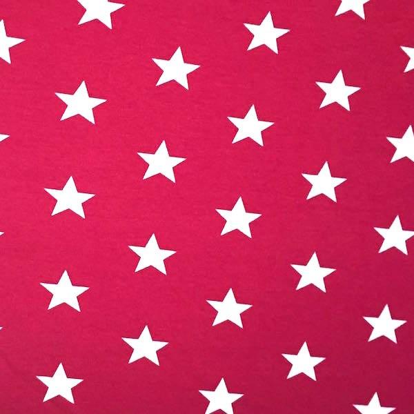 Stars weiß auf rot, Jersey