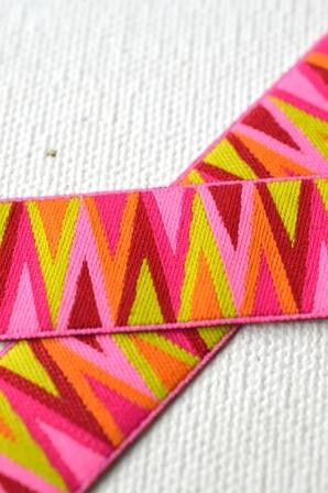 Triangle Tips, pink, Webband *SALE*