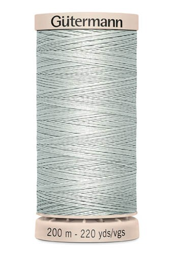 Gütermann Quilting Garn, silber (4507)