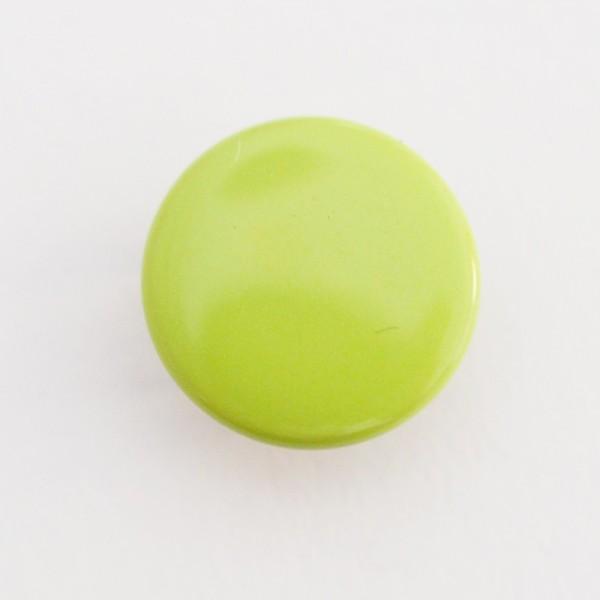 Druckknopf, grün, 10 mm