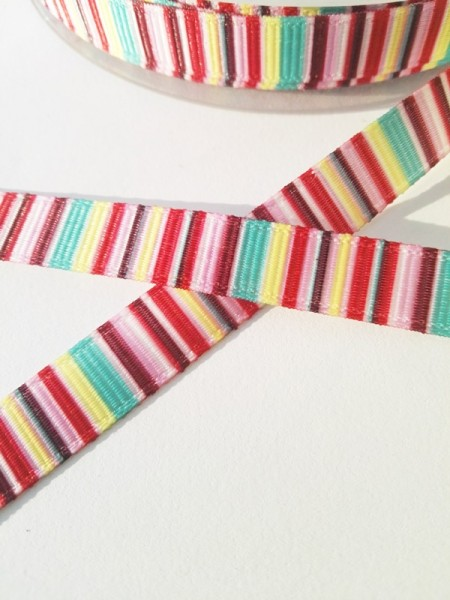 Multicolor, rosa-pink, Ripsband