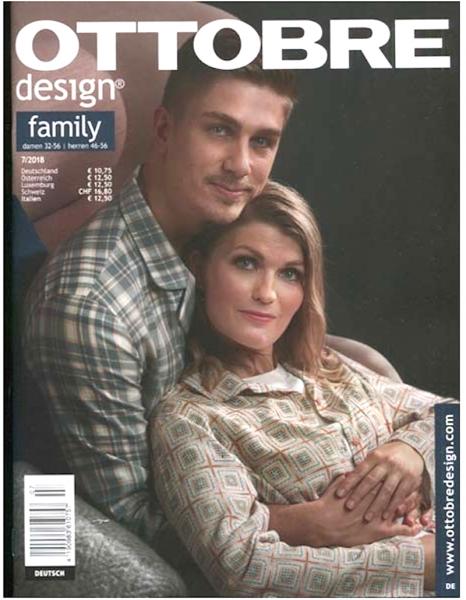 Ottobre Design Family 7/2018