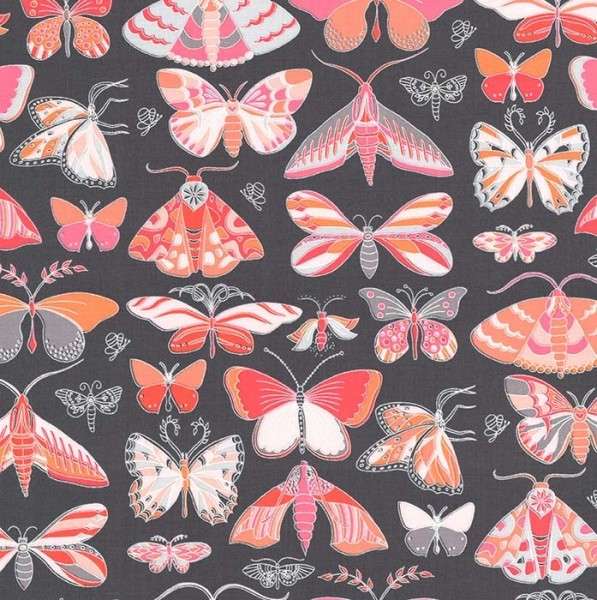 M. Miller Joy, Schmetterlinge grau