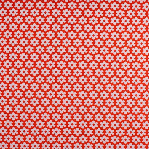 Miri Blümchen, orange, Webstoff