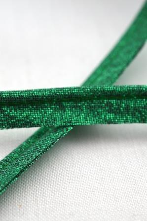 Paspel, grün glitzer
