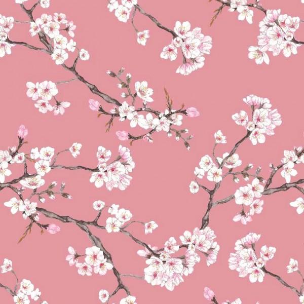 Modal-Jersey, Blossom altrosa