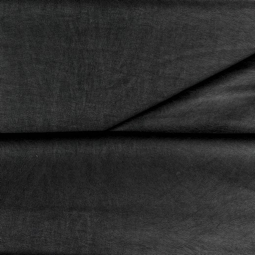Levi, Lederimitat genarbt, schwarz-metallic