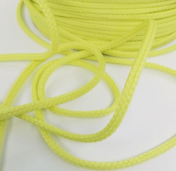 Schnur, 4 mm, gelbgrün