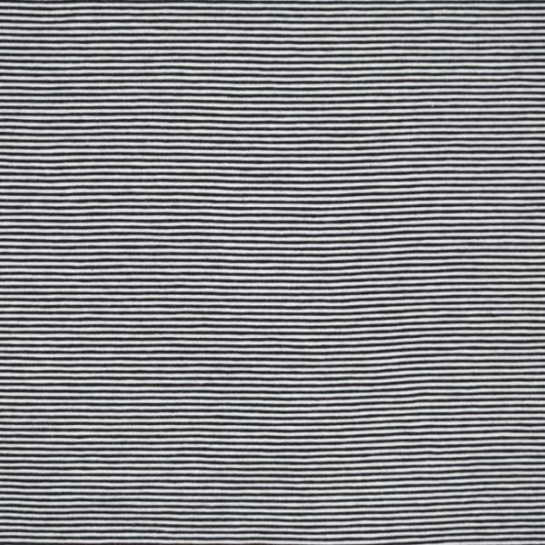 Streifenjersey mini, schwarz-weiß