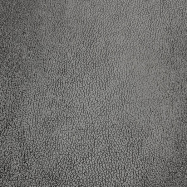 Cuir Lederimitat, stahlgrau metallic
