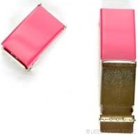 Gürtelschnalle, 2,5 cm, pink