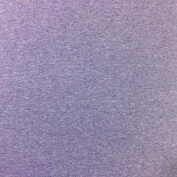 Glattes Bündchen violett-meliert