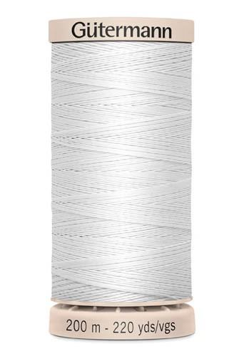 Gütermann Quilting Garn, weiß (5709)