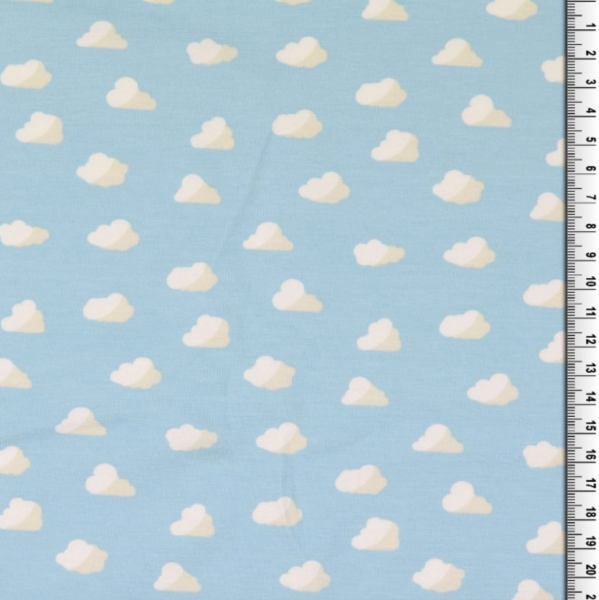 Wolken auf hellblau, Jersey