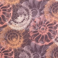 Pauli, Vintage Flowers dunkel, Bio-Popeline
