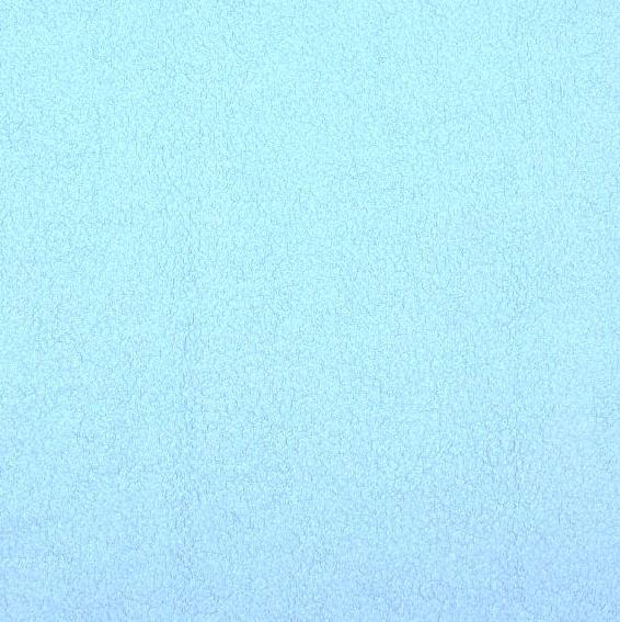 Sherpa Baumwoll-Fleece hellblau, *SALE*
