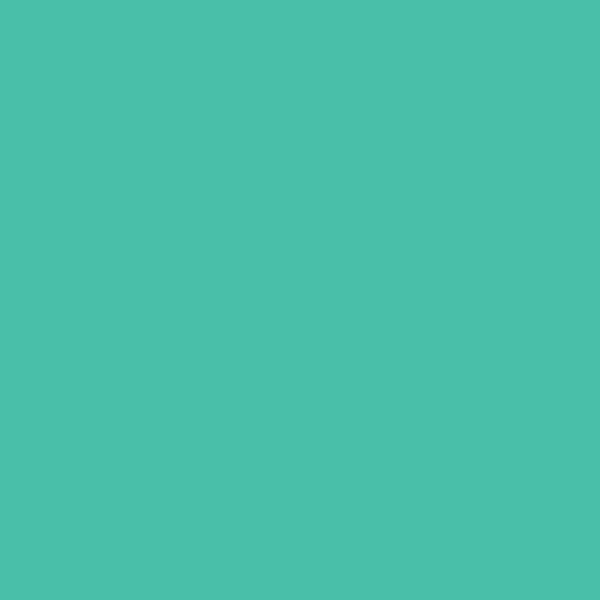 Glattes Bündchen türkisgrün