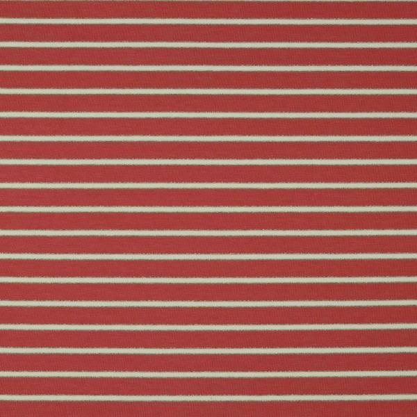 Sweat, Lurex-Stripes marsala
