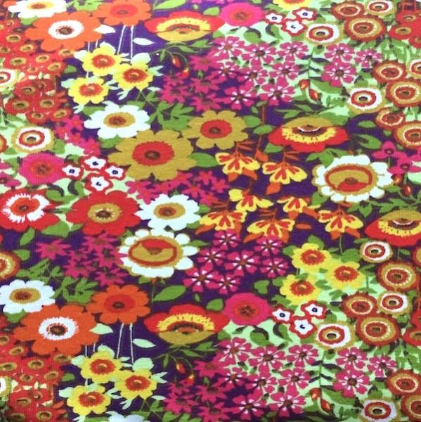Floraly, Blumen bunt, Jersey