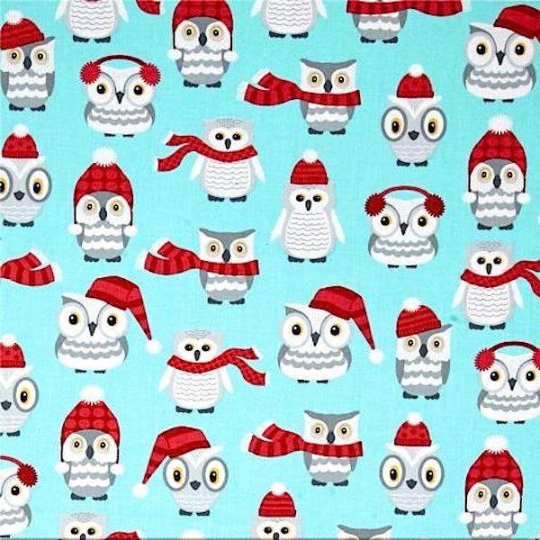 R. Kaufman, Polar Pals Owls, türkis