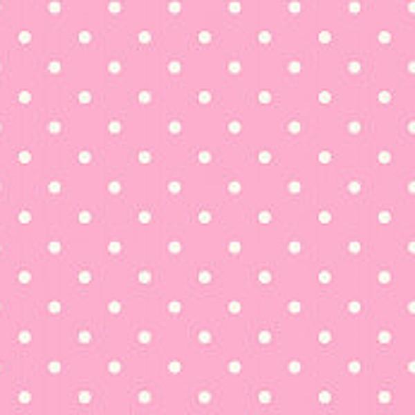 Dots, dunkelrosa, Webstoff