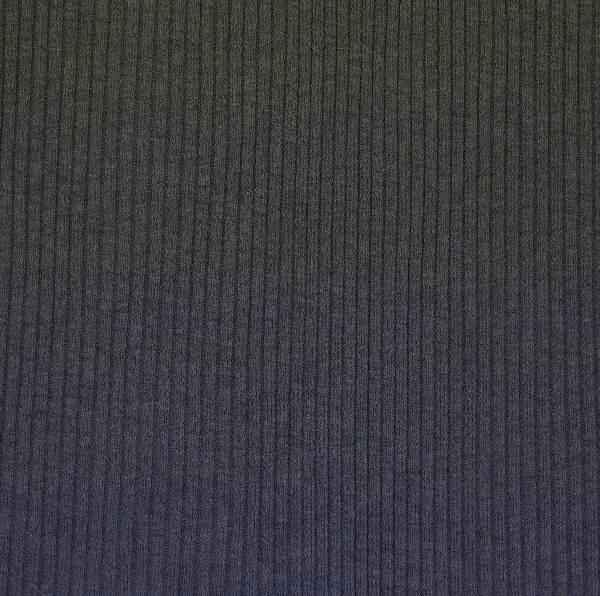 XL Ripp-Jersey, dunkelgrau-meliert