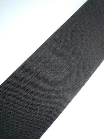 Einziehgummi, schwarz, 30 mm