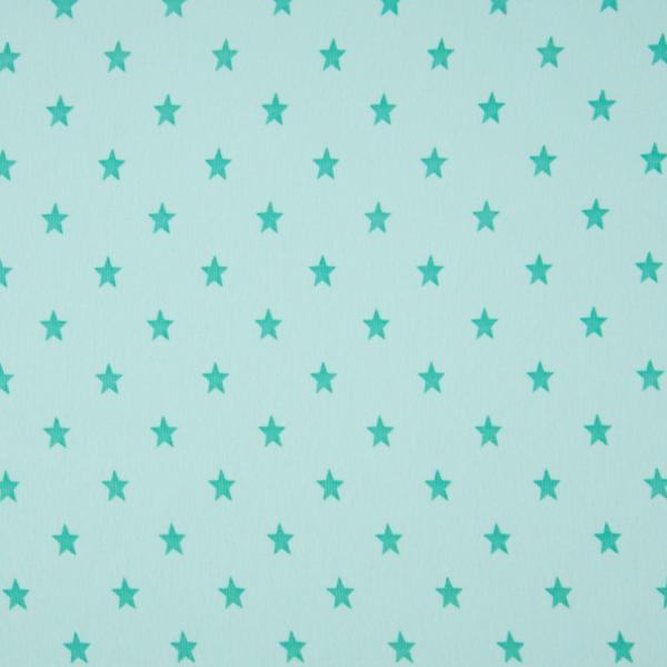 Bündchen mit Sternen mint