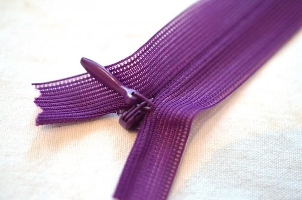Nahtzipp, dunkles violett *SALE