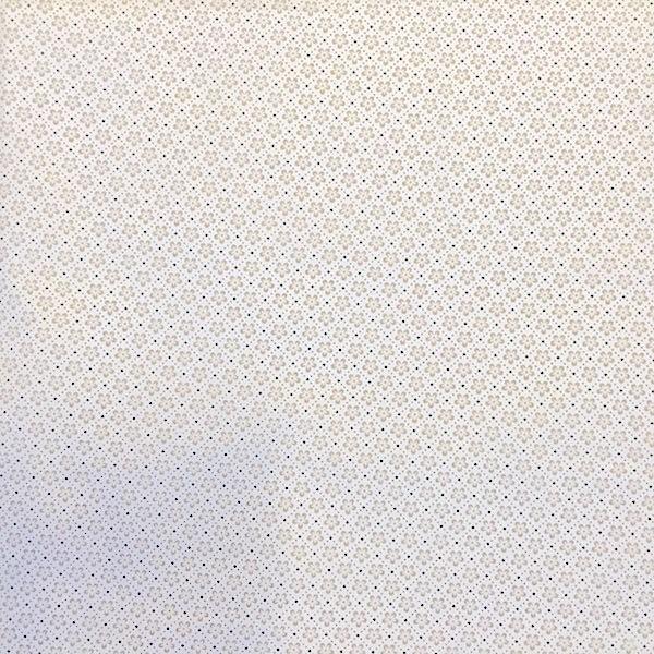 Mathilda Blümchen in Raute weiß