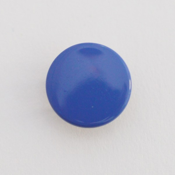 Druckknopf, royalblau, 10 mm