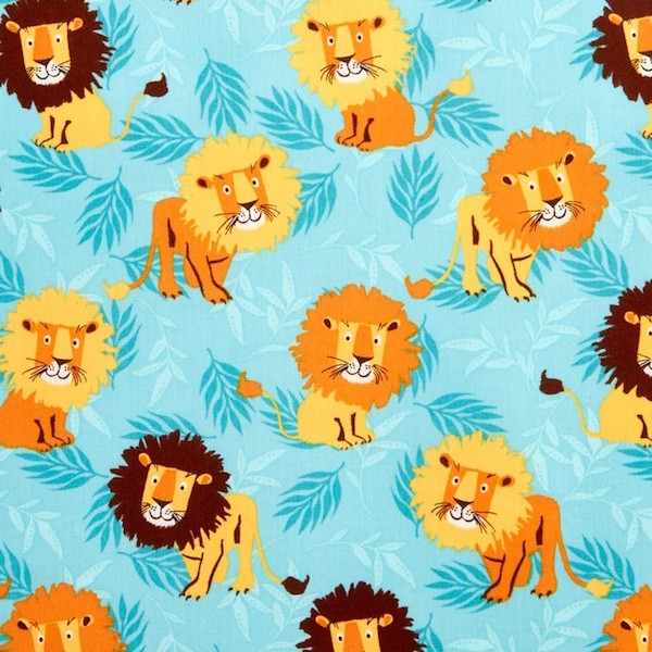 R. Kaufman, Wild Adventure Lions blue